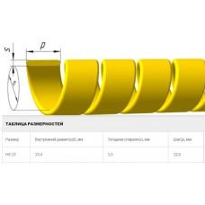 Защитная спираль на рукава 24-30 мм диаметра