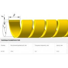 Защитная спираль на рукава 30-40 мм диаметра