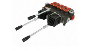 Гидрораспределитель 5Р80-1(А1А1)+JU3 A1 (А1А1)+JU3 GKz1 с джойстиками