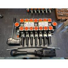Гидрораспределитель 7РС100 под троса на экскаватор с джойстиками - аналог HYDROCONTROL