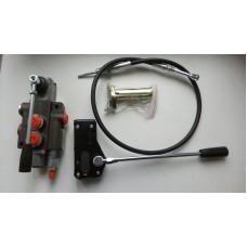 Гидрораспределитель Р80-А1 GKZ1 без фиксации с тросовым управлением