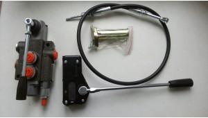 Гидрораспределитель Р80-А1 GKZ1 с тросовым управлением на ручке