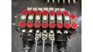Гидрораспределитель DCV100/7 экскаватора мтз юмз, 7 секций с 2мя джойстиками Китай
