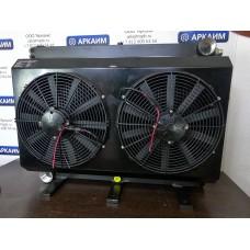 Маслоохладитель МО10К 400 л/мин 12/24В с предохранительным клапаном на сброс давления свыше 6 бар