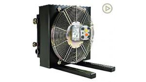 Маслоохладитель МО2 200 л/мин гидромотор