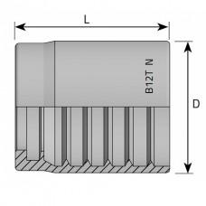 Муфта обжимная 1SN/2SN/2SC DN=16