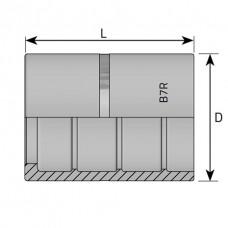 Муфта обжимная R7 DN=06