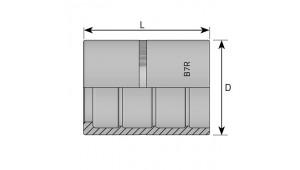 Муфта обжимная R7 DN=10