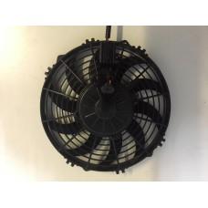 Электровентилятор 12/24В, Диаметр крыльчатки 255мм. Производительность 1800м3/час.