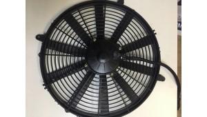 Электровентилятор 385мм - диаметр крыльчатки. 12/24В. Производительность 2600м3/час. МО4, HY037, МО10