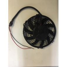 Электровентилятор 12/24В, Диаметр крыльчатки 219мм. Производительность 800м3/час.
