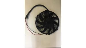 Электровентилятор 225 - диаметр крыльчатки. 12/24В. Производительность 1700м3/час.   МО1