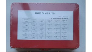 Box G набор колец