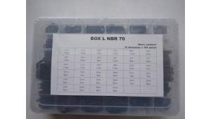 Box L набор колец