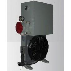 Маслоохладитель МО2Б18 до 100 л/мин 220/380В. Сливной фильтр +  Бак 18л