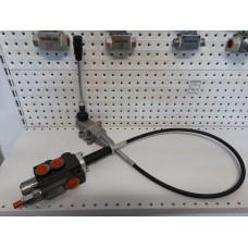 Гидрораспределитель Р40-1А1 GKz1 с джойстиком на тросовом управлении